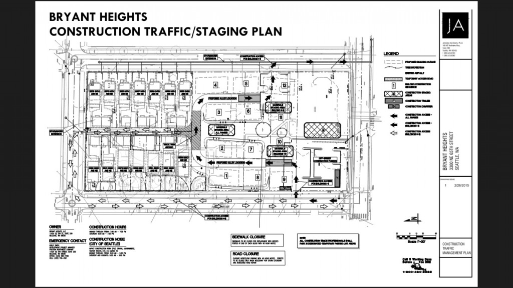 Bryant Heights Construction Traffic Plan